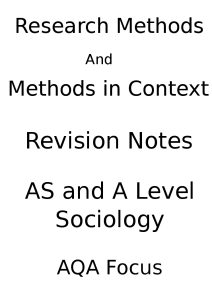 aqa level sociology essays Aqa a-level sociology: topics in sociology exam: advice for answer the families and households section paper 2 is a 2 hour paper, out of a total of 80 marks you get.