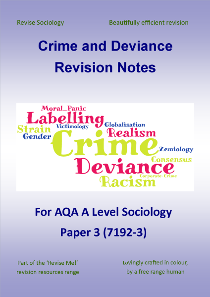 essay topic 1 crime and deviance