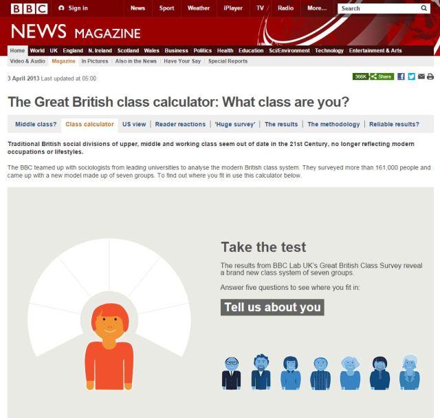 British Class Survey